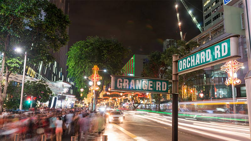 Singapore, Shopping, Orchard, Road
