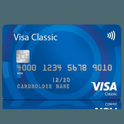 Carte Bleue Suisse.Produit Visa